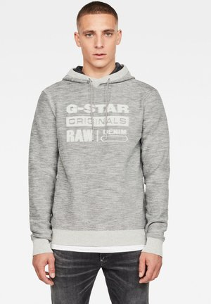 Hoodie - cool grey