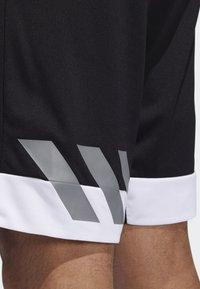 adidas Performance - CREATOR 365 SHORTS - Sports shorts - black - 5