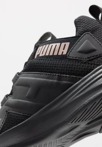 Puma - CONTEMPT DEMI - Zapatillas de running neutras - black/rose gold - 5