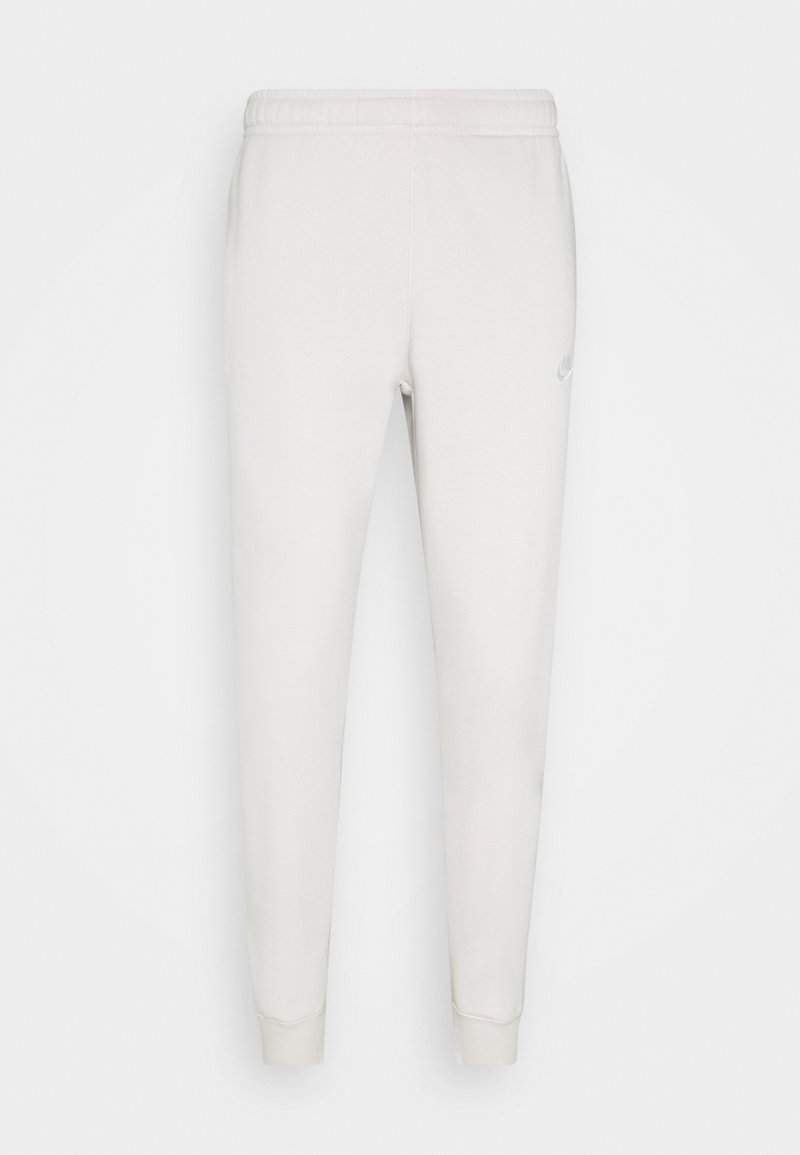 Nike Sportswear - CLUB - Tracksuit bottoms - light bone/white