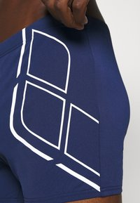 Arena - ESSENTIALS - Swimming trunks - navy/white - 3