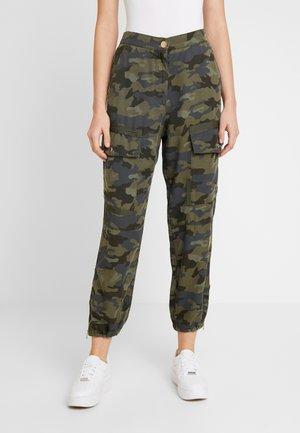 HAILEY - Trousers - khaki