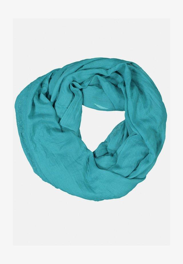 Sjaal - blaugrün