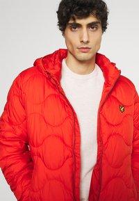 Lyle & Scott - WADDED JACKET - Light jacket - burnt orange - 3