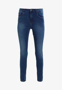 VMSEVEN SHAPE UP  - Jeansy Slim Fit - medium blue denim