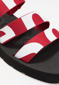 Proenza Schouler - Platform sandals - rosso/bianco - 2