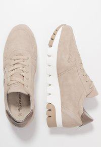 Tamaris - LACE UP - Trainers - taupe/light bronc - 3