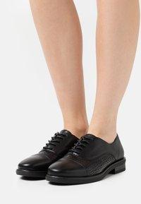 Anna Field - Šněrovací boty - black - 0