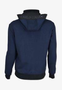 Carlo Colucci - Zip-up hoodie - blau - 1