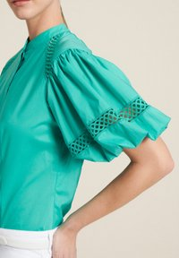 Luisa Spagnoli - BAUNY - Button-down blouse - turchese - 3