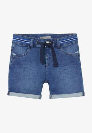 TEEN BOYS BERMUDA - Denim shorts - blue