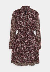 ONLY - ONLDREAM LAYERED SHORT DRESS - Day dress - black - 1