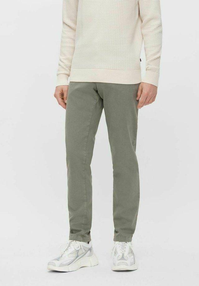 Chinos - green grey