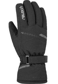 Reusch - HANNAH  - Gloves - black/black melange - 1