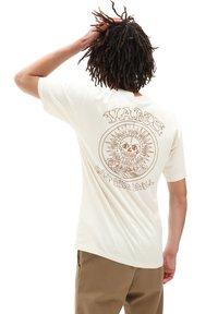 Vans - MN EL SOLE SS - Print T-shirt - seedpearl - 1