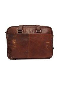 Gusti Leder - Laptop bag - dunkelbraun - 2
