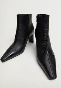 Mango - MOON - Classic ankle boots - zwart - 5