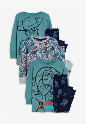 DISNEY TOY STORY 2 PACK REVERSIBLE SNUGGLE PYJAMAS - Pyjama - green