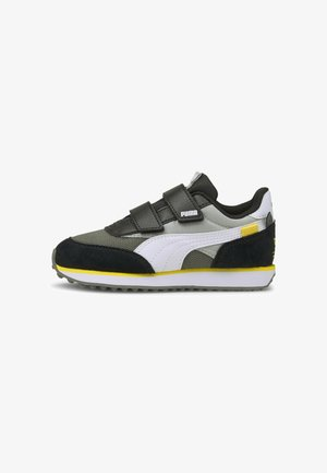 Sneakers laag - gray violet-white