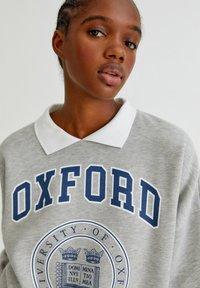 PULL&BEAR - OXFORD - Sweatshirt - grey - 3