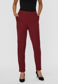 Vero Moda - Trousers - cabernet - 0