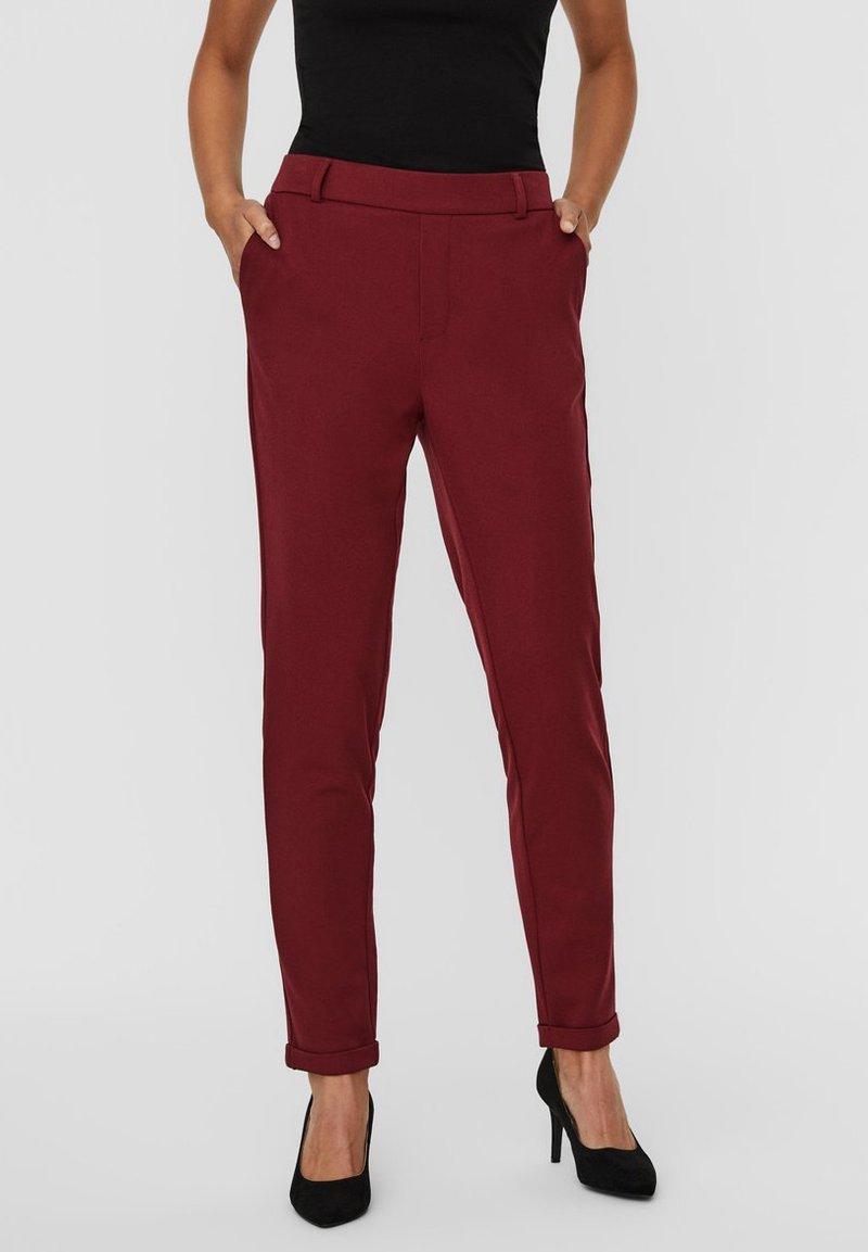 Vero Moda - Trousers - cabernet