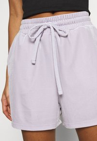 Pieces - PCGIGI - Shorts - purple heather