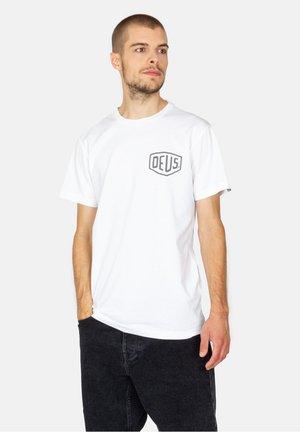 BERLIN ADDRESS - Print T-shirt - white