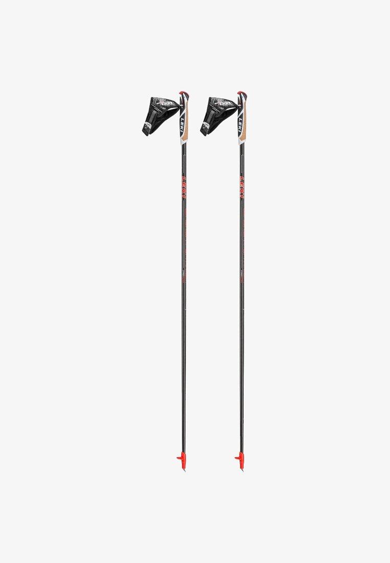 Leki - WALKER PLATINUM - Other - black/red