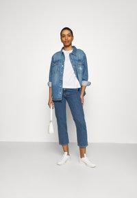 Calvin Klein Jeans - OVERSHIRT - Skjorte - blue - 1