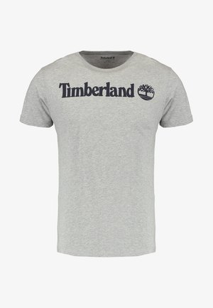 CREW LINEAR  - T-shirt z nadrukiem - grey heather