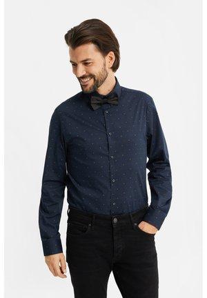 SLIM FIT MET DESSIN - Shirt - dark blue