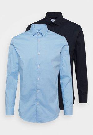 SLHSLIMBROOKLYN SHIRT 2 PACK - Koszula biznesowa - light blue/navy blazer