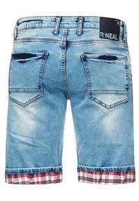 Rusty Neal - Denim shorts - blau - 2