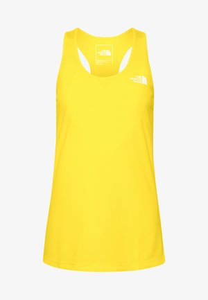 WOMENS FLEX TANK - Funktionströja - lemon