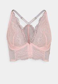 ballet pink/silver