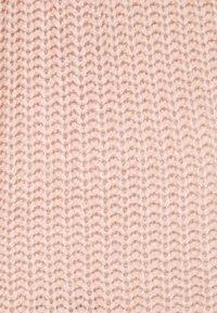 Missguided - HIGH NECK BASIC DRESS WITH BELT - Jumper dress - pale pink - 2