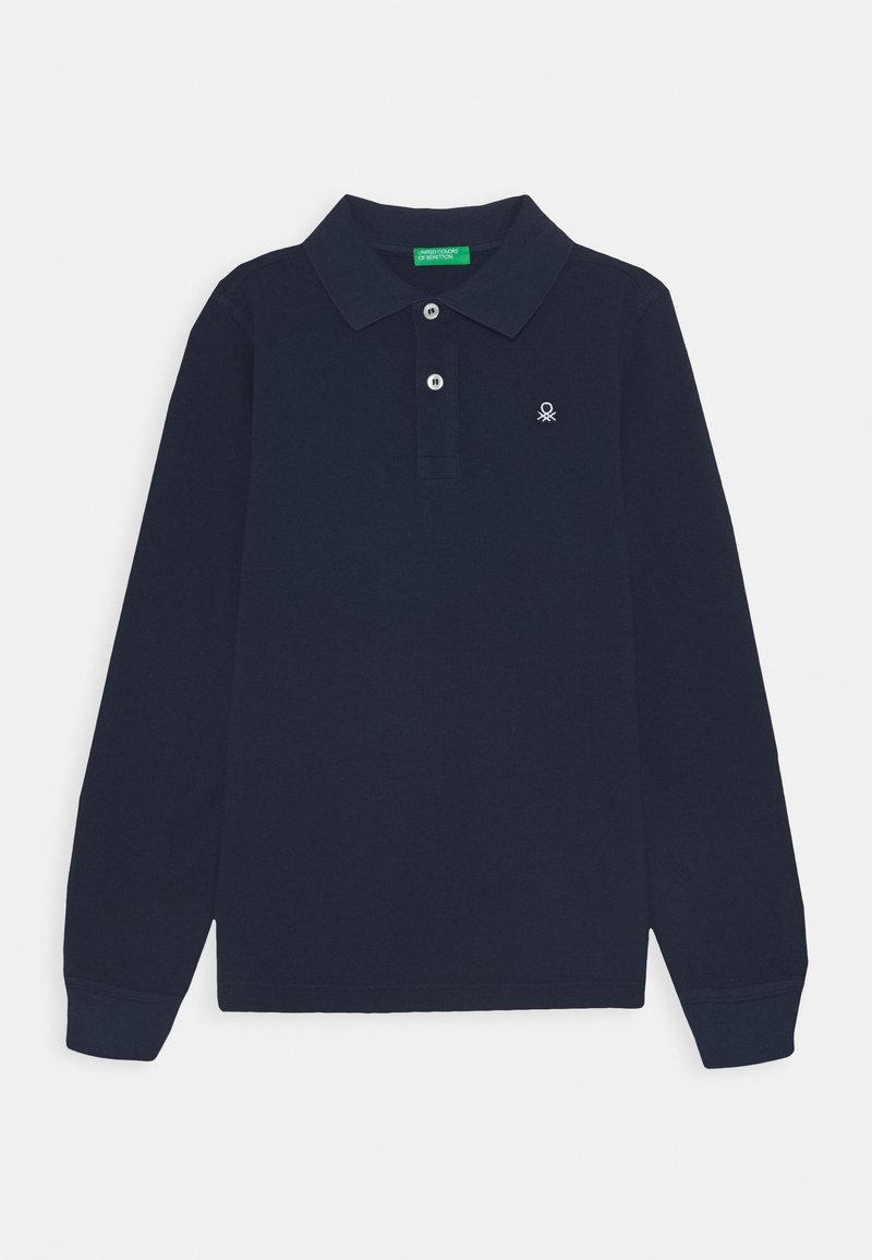 Benetton - BASIC BOY - Poloshirt - dark blue