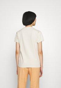 PS Paul Smith - WOMENS - Print T-shirt - beige - 2