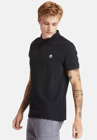 Timberland - MILLERS RIVER - Polo shirt - black - 3