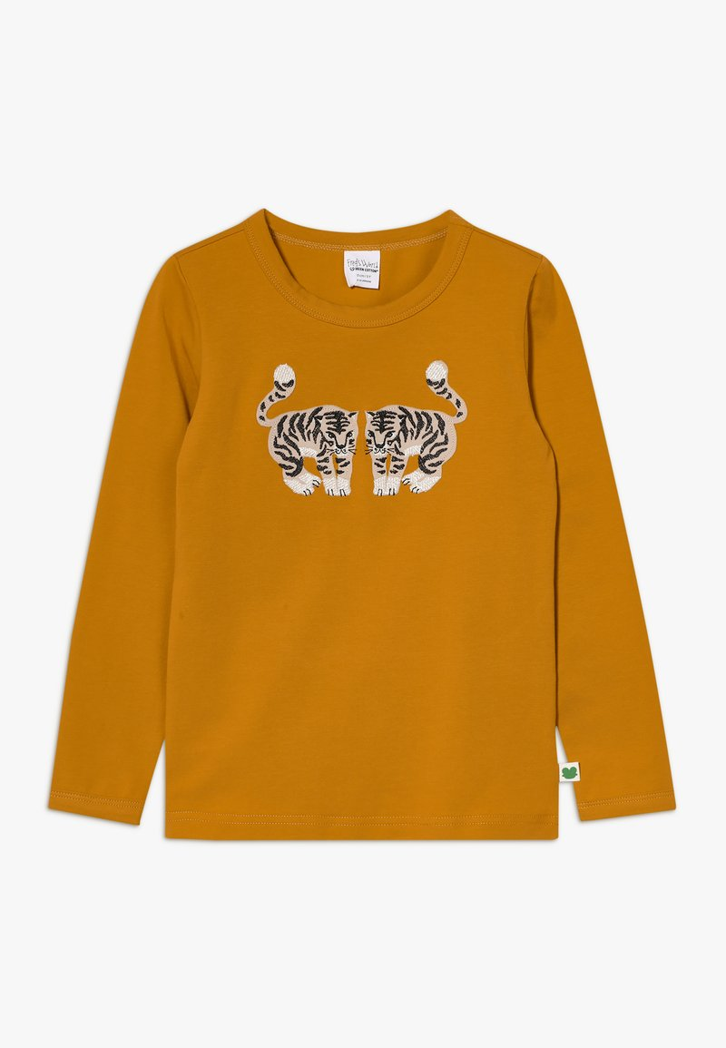 Fred's World by GREEN COTTON - TIGER  - Long sleeved top - curry