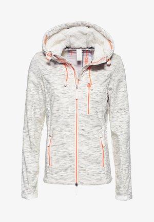SHERPA SD-WINDTREKKER - Outdoor jacket - heather grey slub/fluro cherry