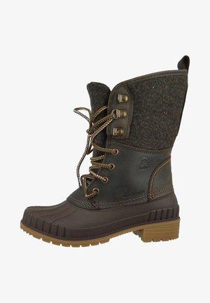 SIENNA - Winter boots - dk brown dbr