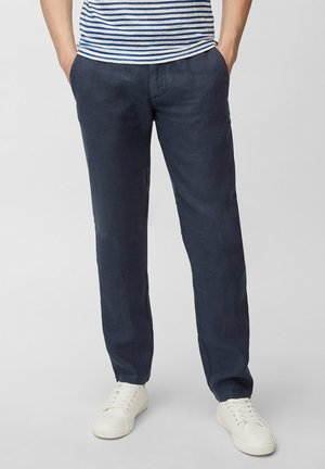 TAPERED FIT PATCHED - Pantalon classique - total eclipse
