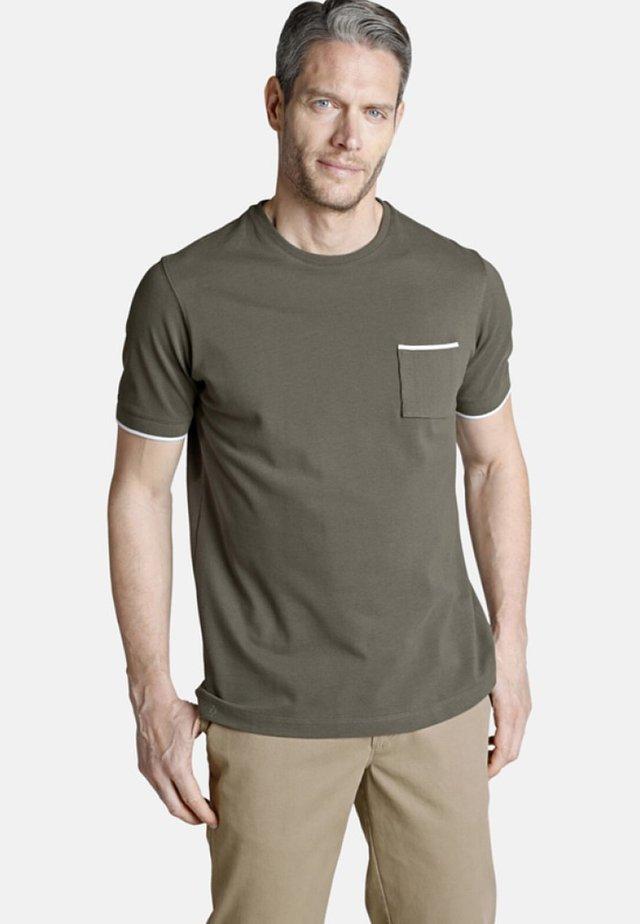 ERROL - Basic T-shirt - olive