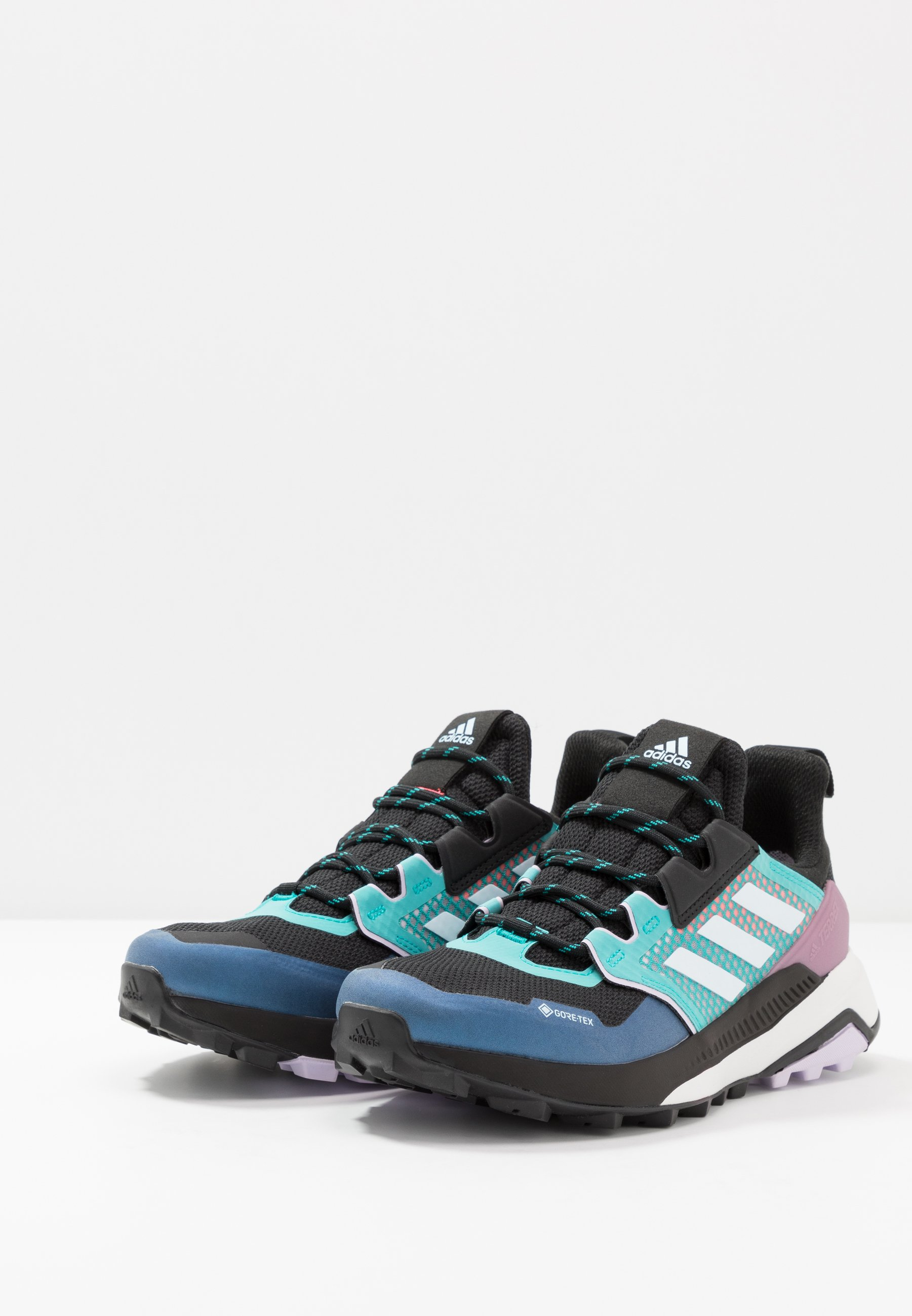 adidas TERREX TRAILMAKER GORE TEX WANDERSCHUHE Hikingschuh core blacksky tintpurple tint