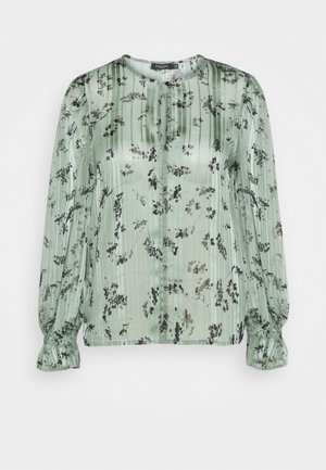 SLAKAKI HALIMA BLOUSE - Blouse - hedge green