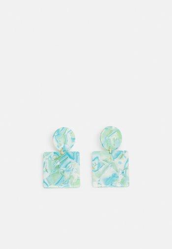 Earrings - mint