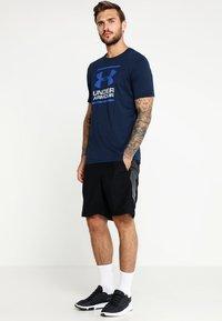 Under Armour - FOUNDATION - Print T-shirt - academy/steel/royal - 1