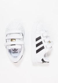 adidas Originals - SUPERSTAR CF  - Baby shoes - footwear white/core black - 1